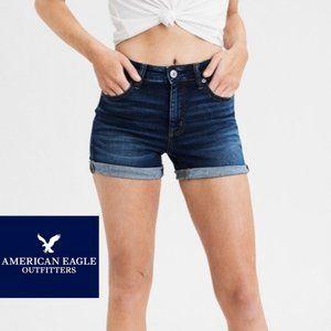 American Eagle Hi-Rise Shortie - Size 0
